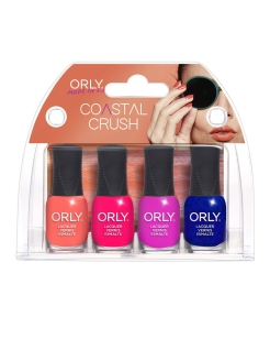Сумочка Mani Mini Kits -COASTAL CRUSH , 5.3мл.х4ед. ORLY