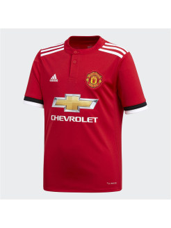 Футболка MUFC H JSY Y REARED/WHITE/BLACK adidas