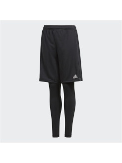 Брюки CON18 2IN1 SHOY BLACK/WHITE Adidas