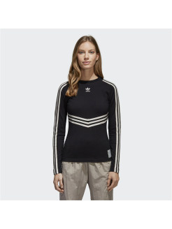 Лонгслив ADIBREAK LS TEE BLACK Adidas