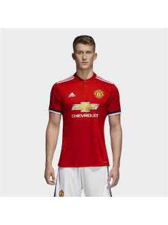 Футболка MUFC H JSY REARED/WHITE/BLACK Adidas