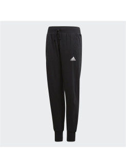 Брюки YG TAPERED PANT BLACK/WHITE Adidas