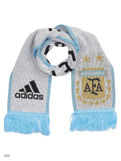 Шарф AFA HOME SCARF      WHITE/CLBLUE/BLACK Adidas