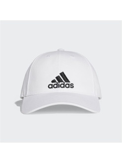 Бейсболка 6P CAP COTTON       WHITE/WHITE/BLACK adidas