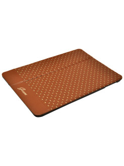 Чехол для iPad Air/iPad 2017 (new) GIANINA Folio Cognac GUESS