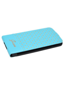 Guess для Galaxy S5 Gianina Flip Turquoise GUESS