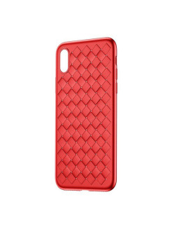 Чехол-накладка Apple iPhone X Baseus BV Weaving Red BASEUS