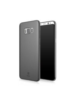 Чехол-накладка Samsung Galaxy S8 Baseus Wing Transparent Black BASEUS