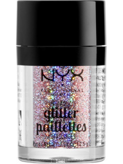 Металлический глиттер. METALLIC GLITTERS - BEAUTY BEAM 03 NYX PROFESSIONAL MAKEUP