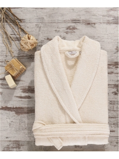 Dressing gown female Naturel Ecocotton