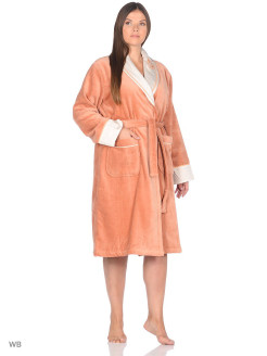 Dressing gown female Efza Ecocotton