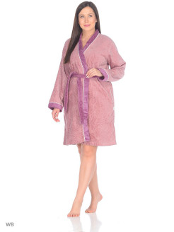 Dressing gown female Deren Ecocotton