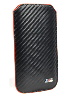 Чехол BMW для iPhone 5S/SE M-Collection Sleeve Carbon ef BMW