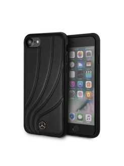Mercedes для iPhone 7/8 New Organic ll Hard Leather Black MERCEDES-BENZ