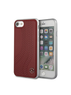 Mercedes для iPhone 7/8 New Bow l Hard Leather Red MERCEDES-BENZ
