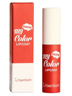 Тинт для губ Oops My Color Lip Coat Velvet - 01 Rosy Suede Berrisom