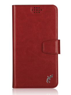 "Universal case G-Case Slim Premium for smartphones 4.2 - 5.0 "", red G-Case"