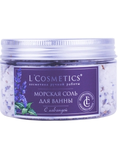 Bath salt, 300 g L Cosmetics