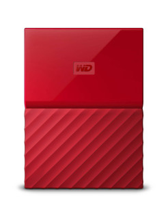 "Жесткий диск Original USB 3.0 1Tb WDBBEX0010BRD-EEUE My Passport 2.5"" красный WD"