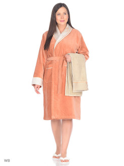 Set Dressing gown female 3 subjects Efza Ecocotton