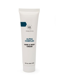 Alpha Complex Multifruit System Hand and Body Cream - Крем для рук и тела 100 мл Holy Land