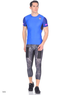 Футболка спортивная RC COMPRESSION TEE VITBLU Reebok