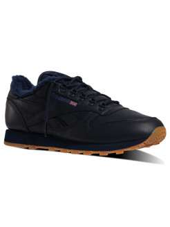 Кроссовки CL LEATHER SHERPA T COLLEGIATE NAVY-GUM Reebok