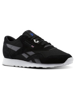 Кроссовки CL NYLON OM BLACK/ASH GREY/WHITE Reebok