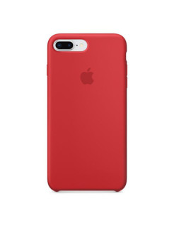 Чехол для iPhone 8 Plus / 7 Plus Silicone Red (MQH12ZM/A) Apple
