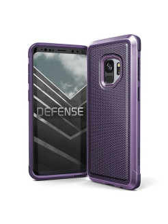 Чехол противоударный X-Doria Defense Lux для Galaxy S9 Purple Ballistic Nylon x-doria
