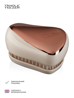 Расческа Tangle Teezer Compact Styler Rose Gold Luxe Tangle Teezer