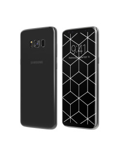 Чехол Vipe (для Samsung Galaxy S8, Flex, прозрачный) Vipe