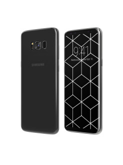 Чехол Vipe (для Samsung Galaxy S8 Plus, Flex, прозрачный) Vipe