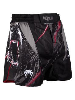 Шорты ММА Grizzli Black/White Venum