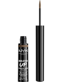 Сухая подводка-тени для бровей. BUILD 'EM UP BROW POWDER - SOFT BROWN 03 NYX PROFESSIONAL MAKEUP
