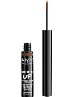 Сухая подводка-тени для бровей. BUILD 'EM UP BROW POWDER - ESPRESSO 06 NYX PROFESSIONAL MAKEUP