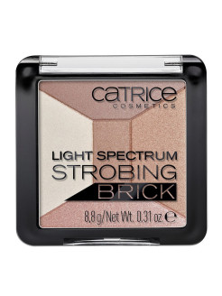 Хайлатер мультицветный 5 в 1 Light Spectrum Strobing Brick 10 Brown Brilliance CATRICE.
