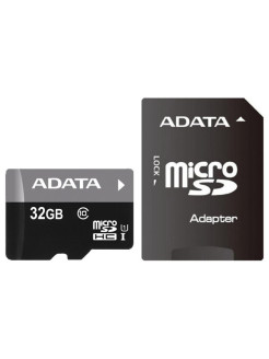 Карта памяти 32Gb AUSDH32GUICL10-RA1 A-Data