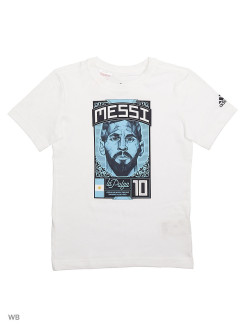 Футболка MESSI GRAPHIC       WHITE Adidas