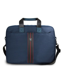 Сумка Ferrari для ноутбуков 15'' Urban Messenger Nylon/PU Navy blue FERRARI