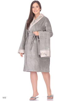 Set Dressing gown female 3 subjects Hira Ecocotton