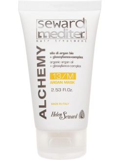 Маска для всех типов волос с аргановым маслом ALCHEMY ARGAN MASK 13/M 75 мл Helen Seward