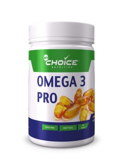 Рыбий жир Omega 3 pro 1000 мг, 30 кап MyChoice Nutrition