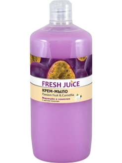 Крем-мыло Passion Fruit&Camellia (маракуйя и камелия) 1000 мл pH 5,5 Fresh Juice