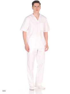 Medical trousers, breathable material Med Fashion Lab