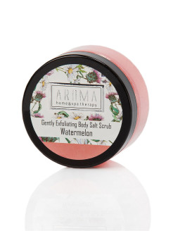 Солевой скраб для тела Watermelon, 150г AROMA HOME & SPA THERAPY