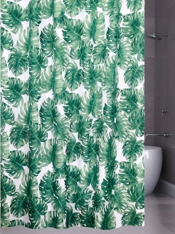 Штора 180х200 д/в Jungle palm ch15163 Bath Plus