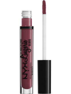 Блеск для губ. LIP LINGERIE GLOSS - EURO TRASH 08 NYX PROFESSIONAL MAKEUP