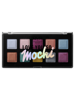 Палетка теней. LOVE YOU SO MOCHI EYESHADOW PALETTE - ELECTRIC PASTELS 01 NYX PROFESSIONAL MAKEUP