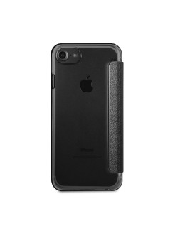 Чехол для iPhone 7/8 Iridescent Booktype PU Black GUESS